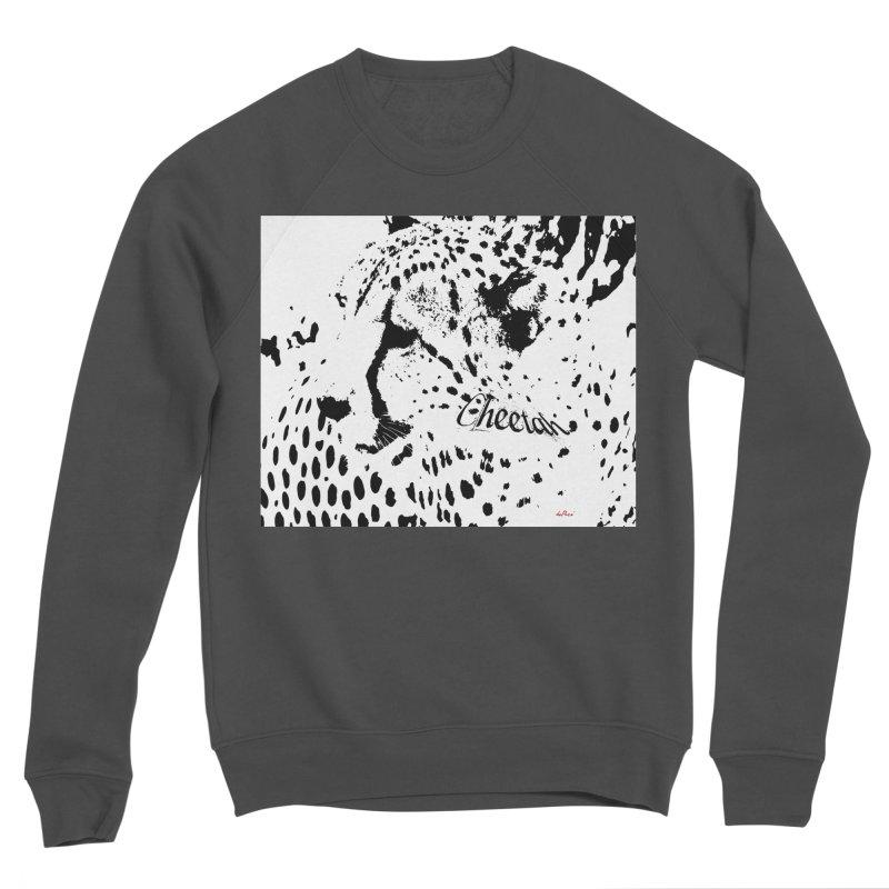 Cheetah Women's Sponge Fleece Sweatshirt by artworkdealers Artist Shop