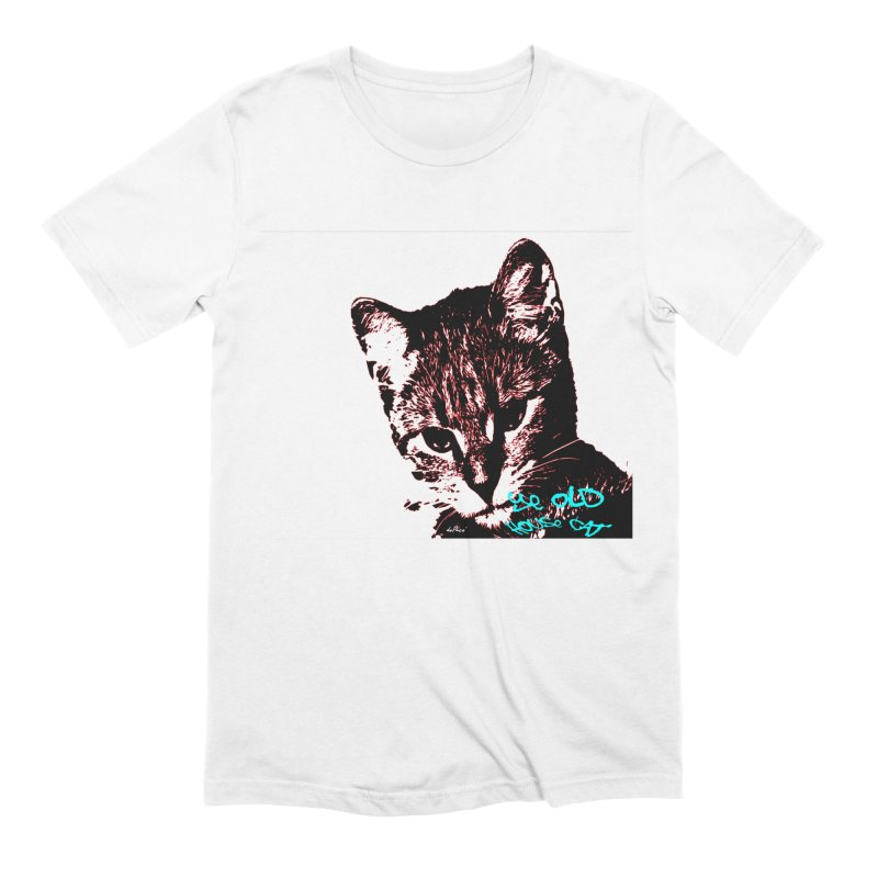 Ye Old House Cat Men's Extra Soft T-Shirt by artworkdealers Artist Shop