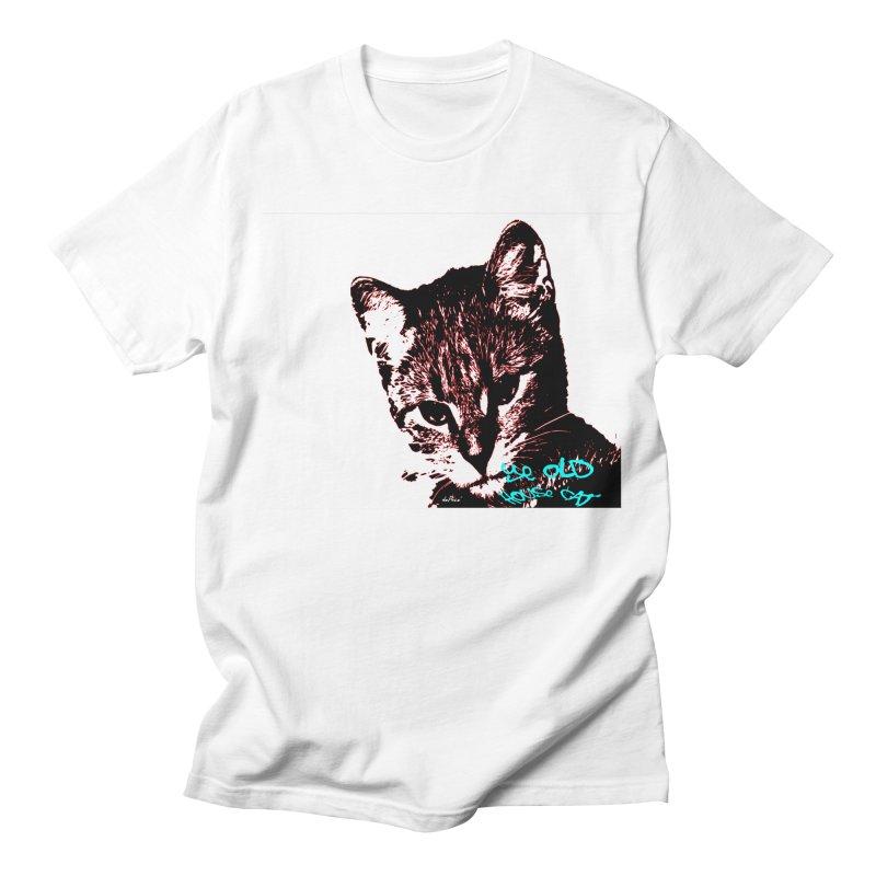 Ye Old House Cat Men's Regular T-Shirt by artworkdealers Artist Shop