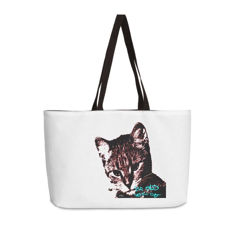 Ye Old House Cat Accessories Weekender Bag Bag by artworkdealers Artist Shop