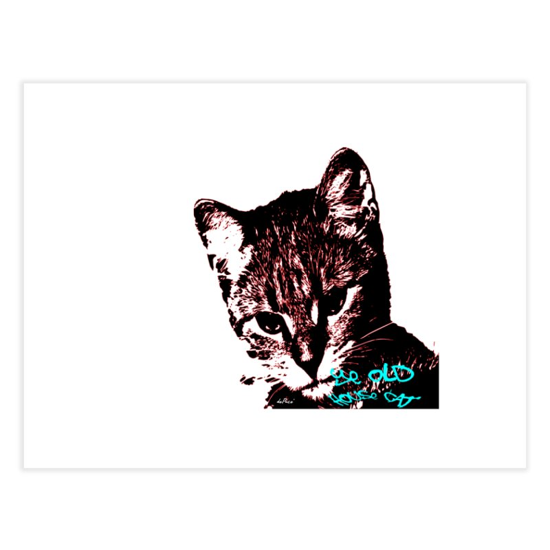 Ye Old House Cat Home Fine Art Print by artworkdealers Artist Shop