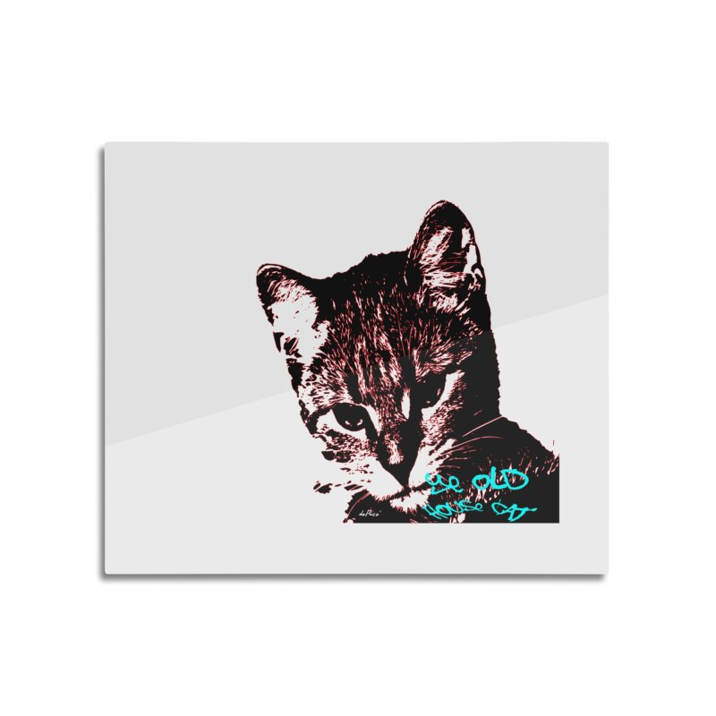 Ye Old House Cat Home Mounted Acrylic Print by artworkdealers Artist Shop