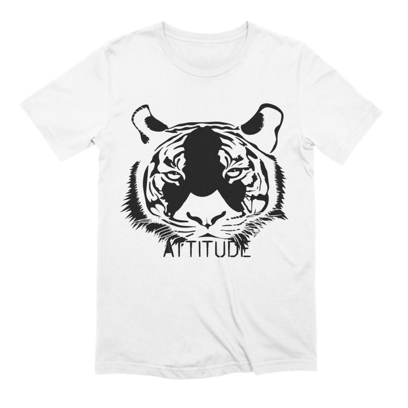 attitude Men's Extra Soft T-Shirt by artworkdealers Artist Shop