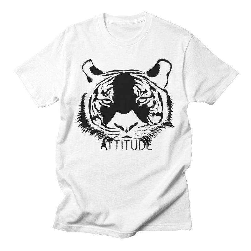 attitude Men's Regular T-Shirt by artworkdealers Artist Shop