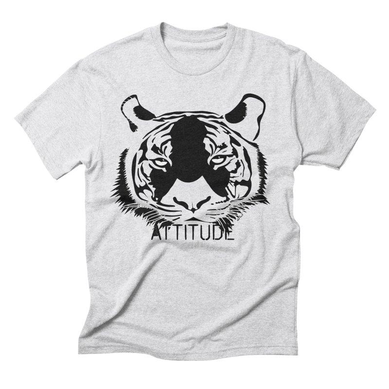 attitude Men's Triblend T-Shirt by artworkdealers Artist Shop