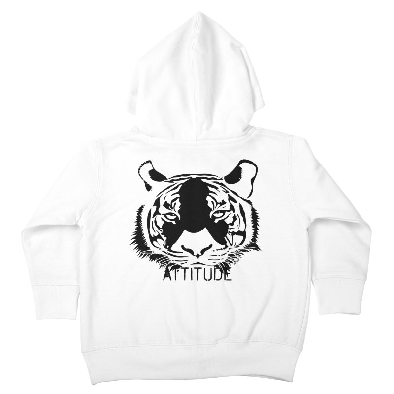 attitude Kids Toddler Zip-Up Hoody by artworkdealers Artist Shop