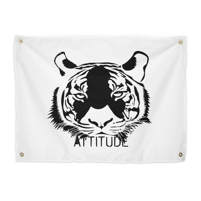 attitude Home Tapestry by artworkdealers Artist Shop