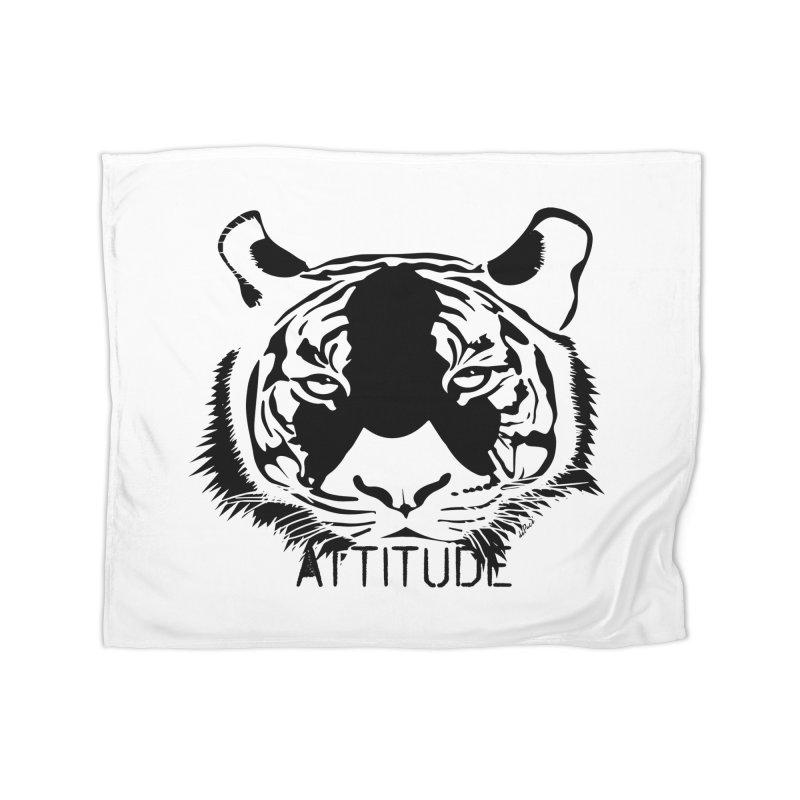 attitude Home Fleece Blanket Blanket by artworkdealers Artist Shop
