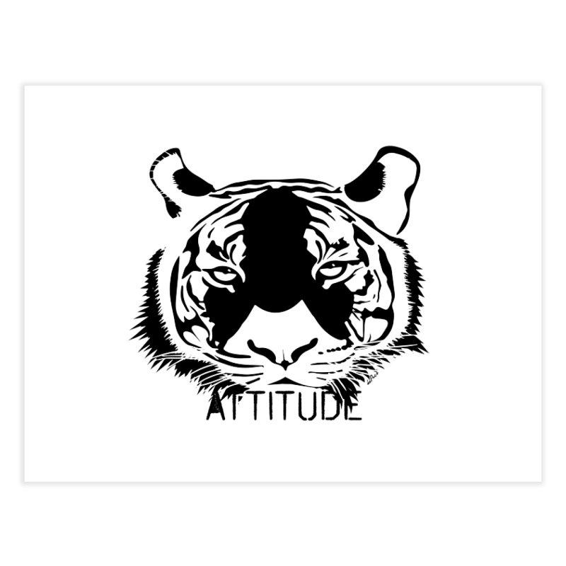 attitude Home Fine Art Print by artworkdealers Artist Shop
