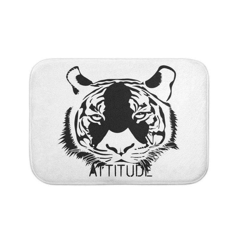 attitude Home Bath Mat by artworkdealers Artist Shop