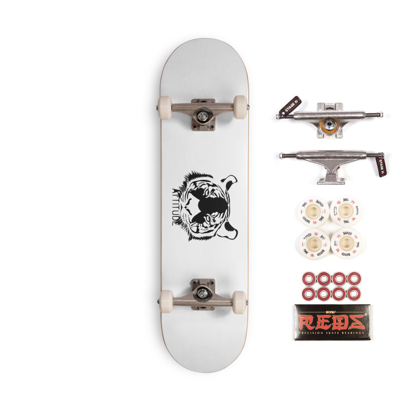 attitude Accessories Complete - Pro Skateboard by artworkdealers Artist Shop