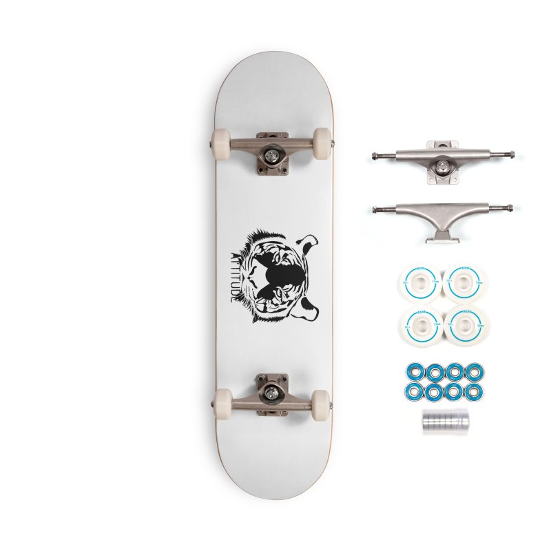 attitude Accessories Complete - Basic Skateboard by artworkdealers Artist Shop