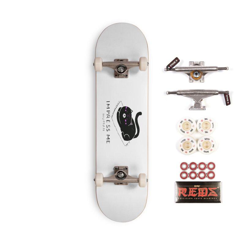 Impress Me Human Accessories Complete - Pro Skateboard by artworkdealers Artist Shop