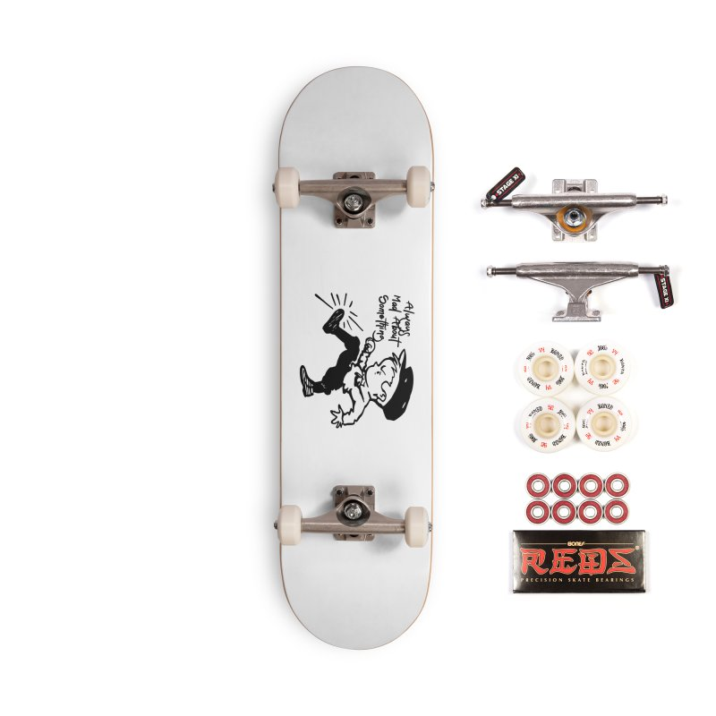 Always Mad About Something Accessories Complete - Pro Skateboard by artworkdealers Artist Shop
