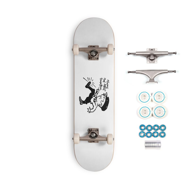 Always Mad About Something Accessories Complete - Basic Skateboard by artworkdealers Artist Shop
