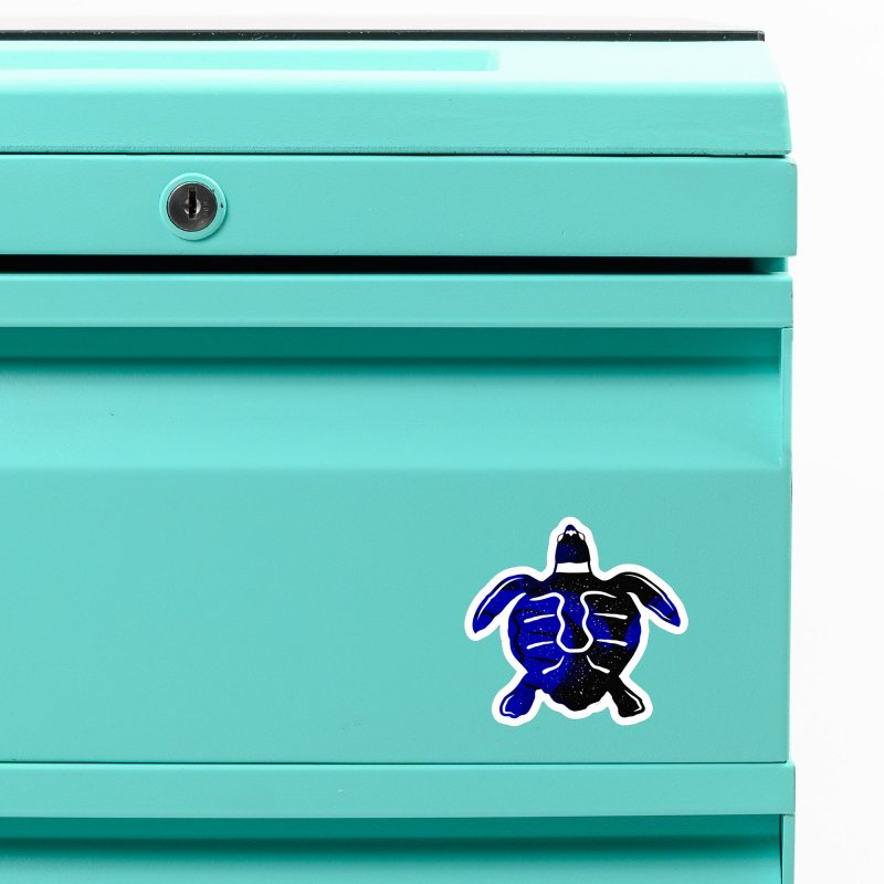 Sea Turtle of Many Colors Accessories Magnet by artworkdealers Artist Shop