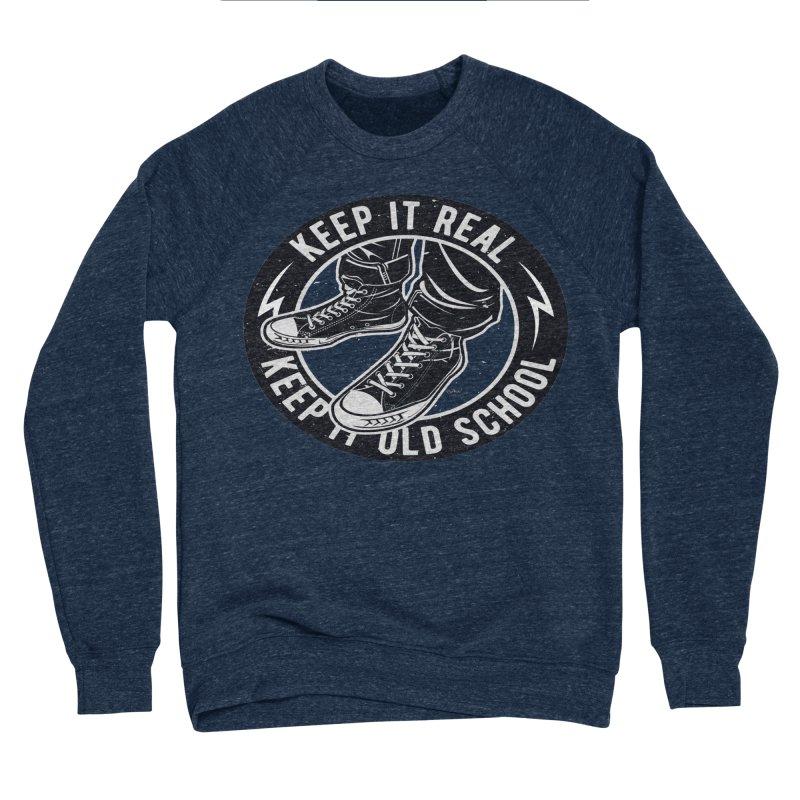 Keep it Old School Women's Sponge Fleece Sweatshirt by artworkdealers Artist Shop