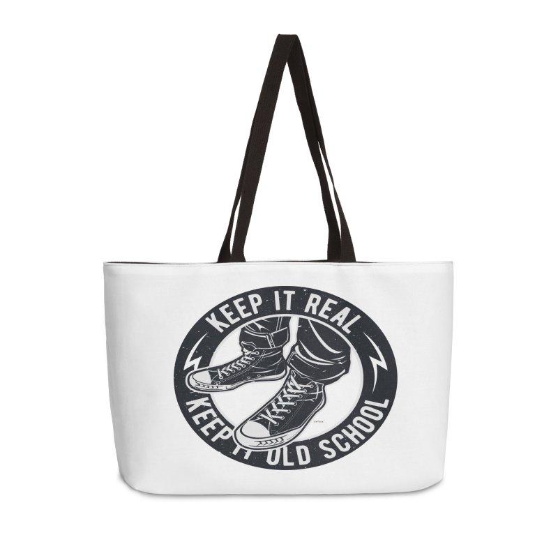 Keep it Old School Accessories Weekender Bag Bag by artworkdealers Artist Shop