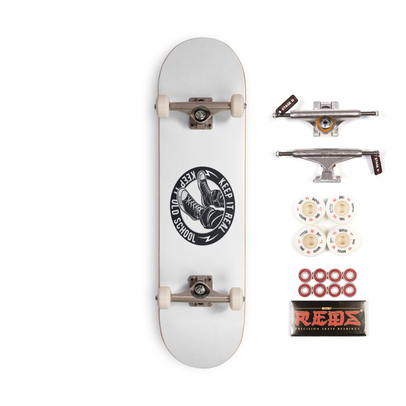 Keep it Old School Accessories Complete - Pro Skateboard by artworkdealers Artist Shop