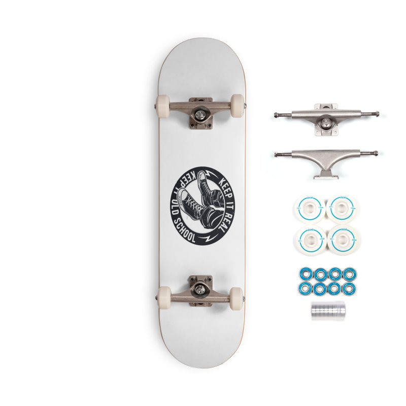 Keep it Old School Accessories Complete - Basic Skateboard by artworkdealers Artist Shop