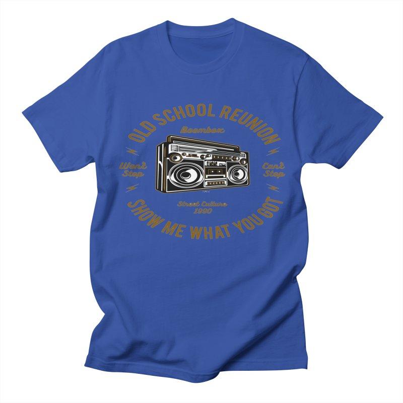Old School Boombox Men's Regular T-Shirt by artworkdealers Artist Shop