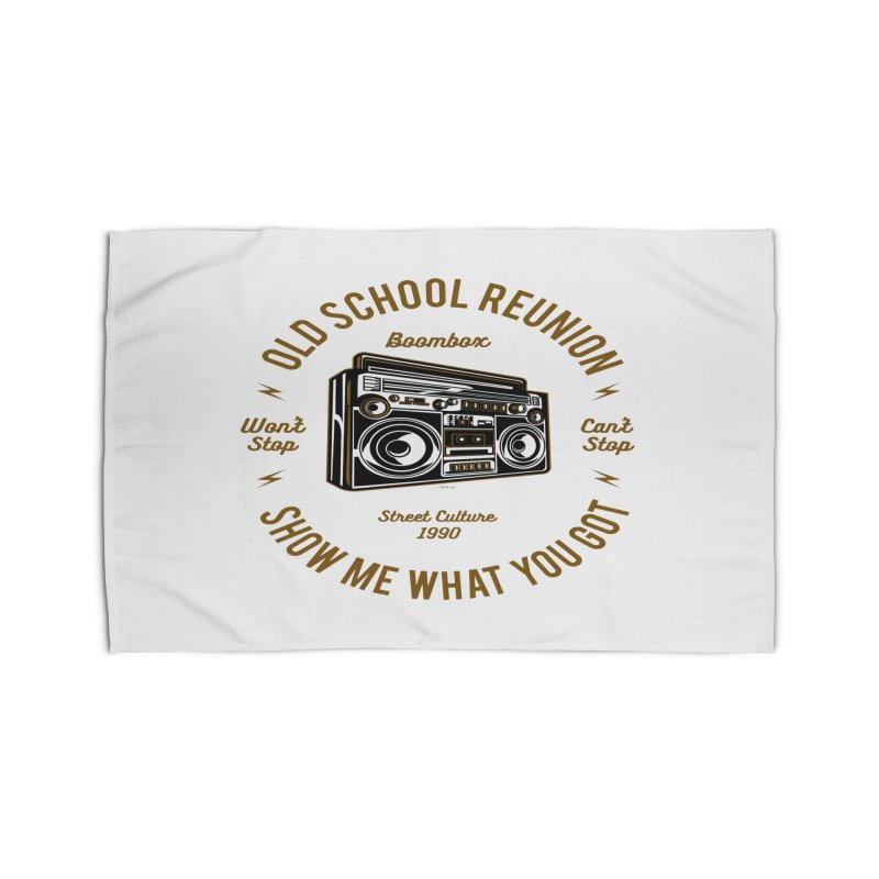 Old School Boombox Home Rug by artworkdealers Artist Shop