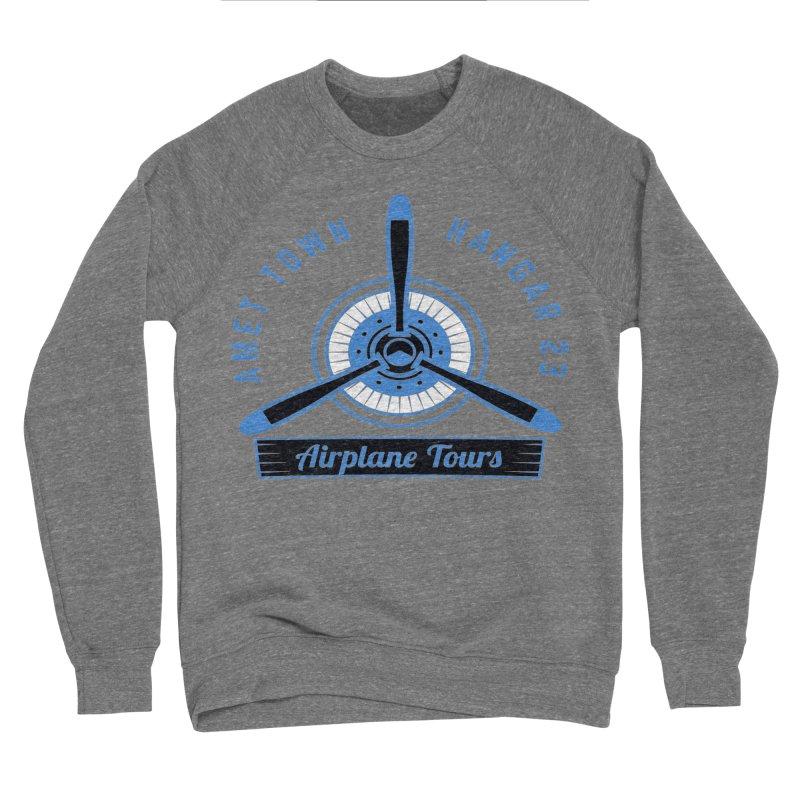 Airplane Tours Women's Sponge Fleece Sweatshirt by artworkdealers Artist Shop