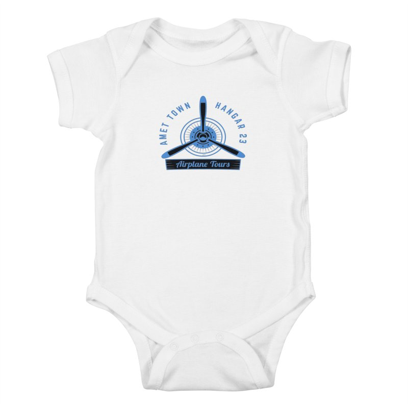 Airplane Tours Kids Baby Bodysuit by artworkdealers Artist Shop