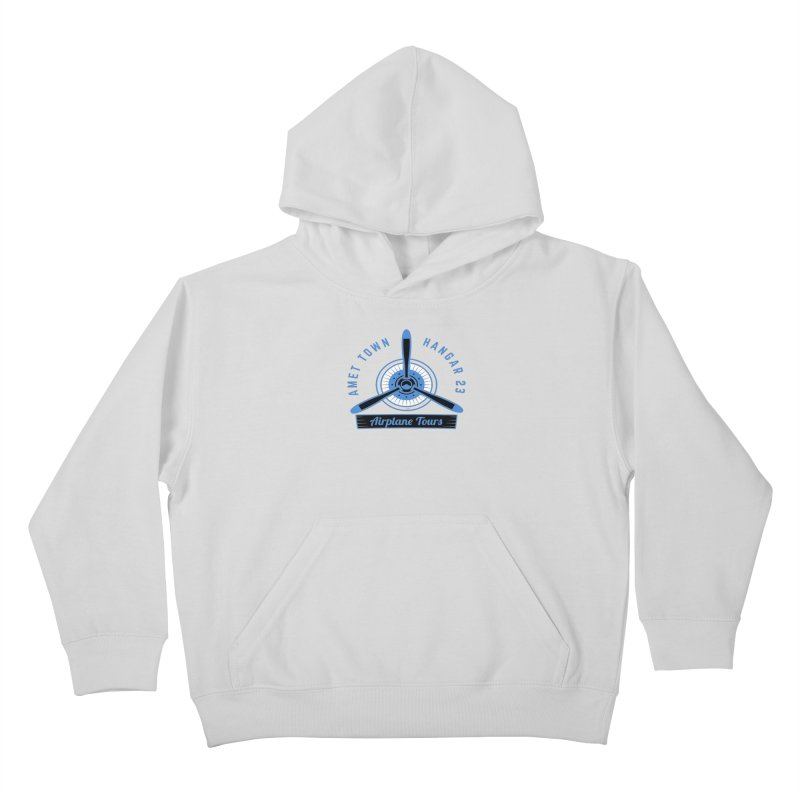 Airplane Tours Kids Pullover Hoody by artworkdealers Artist Shop