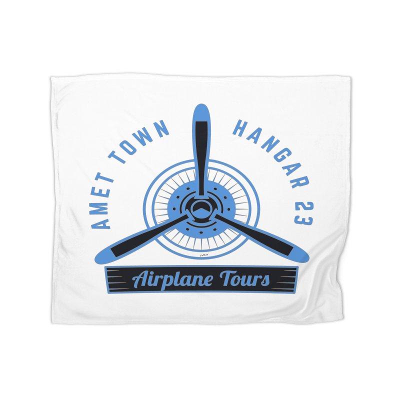 Airplane Tours Home Fleece Blanket Blanket by artworkdealers Artist Shop