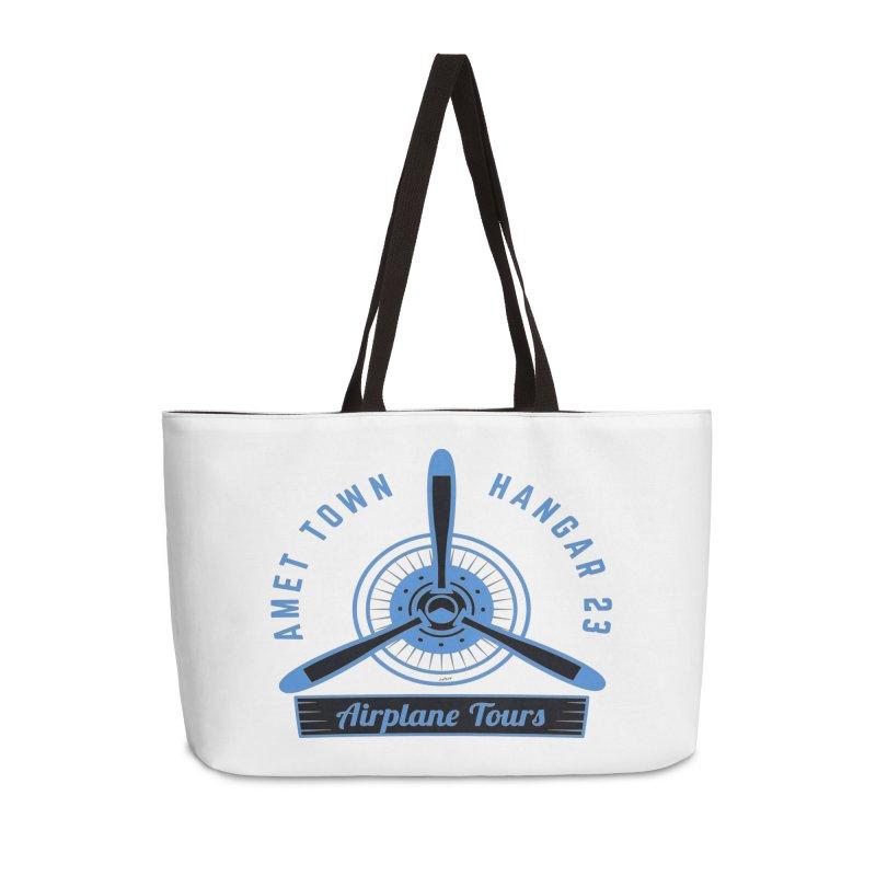 Airplane Tours Accessories Weekender Bag Bag by artworkdealers Artist Shop