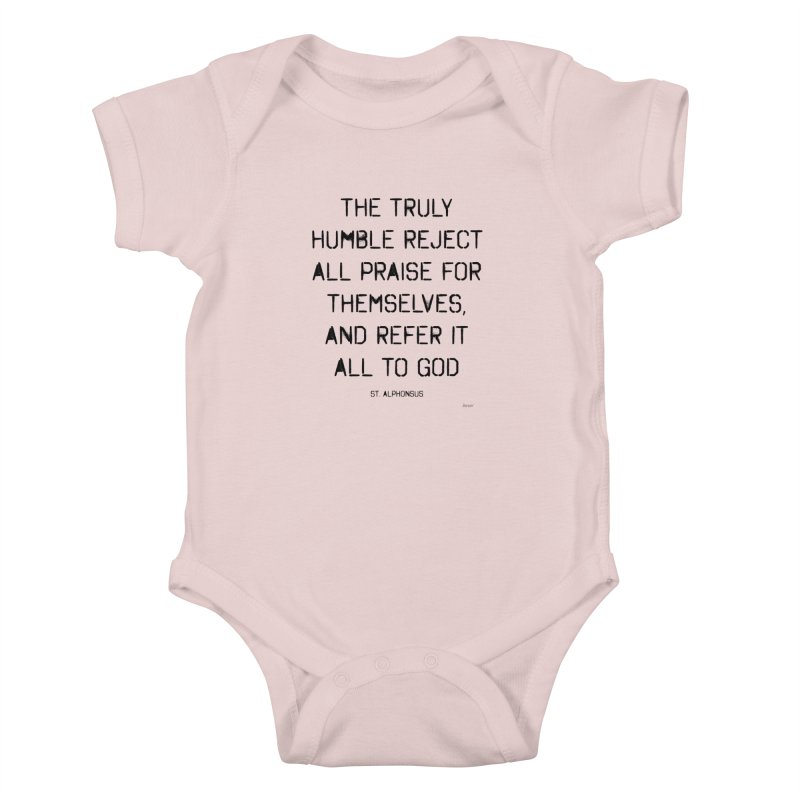 The truly humble Kids Baby Bodysuit by artworkdealers Artist Shop