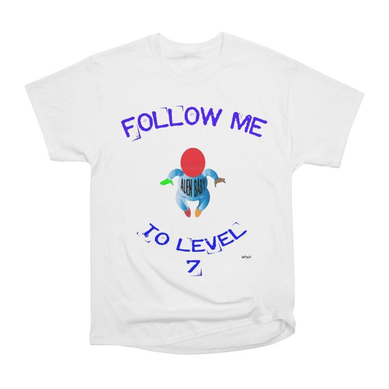 Follow me to level 7 Men's Heavyweight T-Shirt by artworkdealers Artist Shop