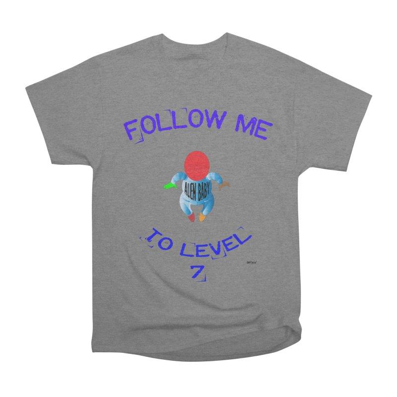 Follow me to level 7 Women's Heavyweight Unisex T-Shirt by artworkdealers Artist Shop