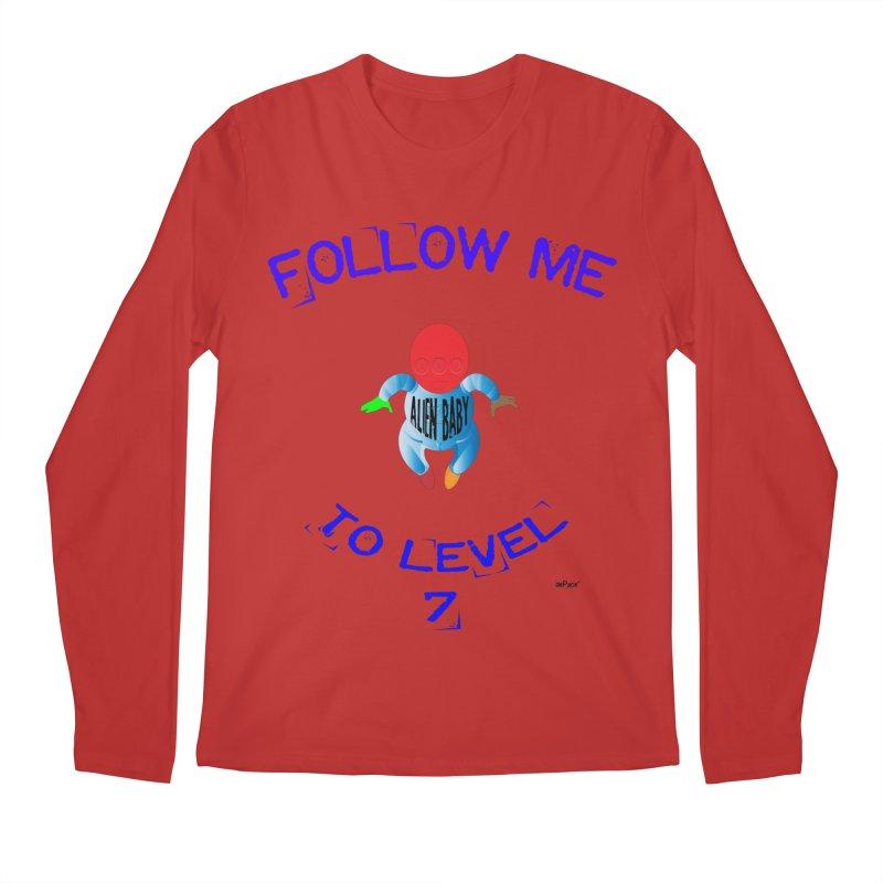 Follow me to level 7 Men's Regular Longsleeve T-Shirt by artworkdealers Artist Shop