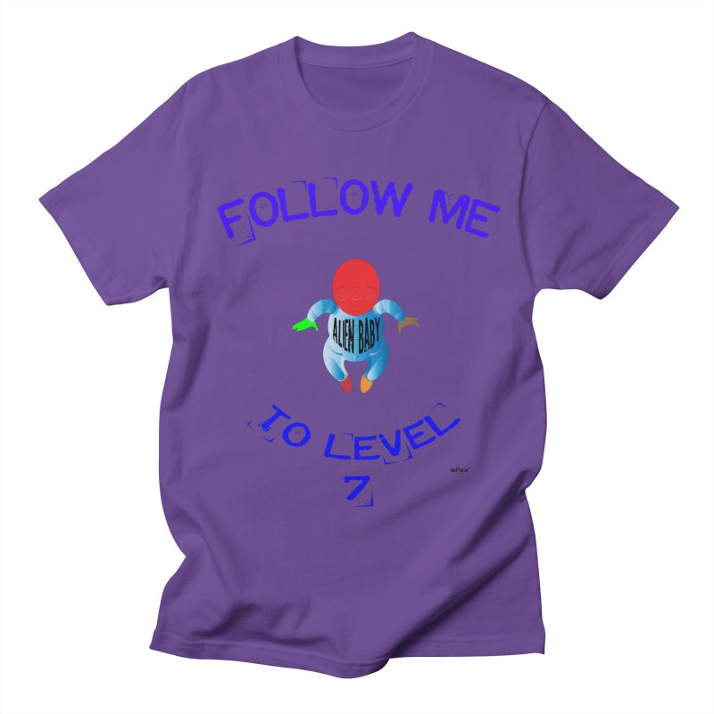 Follow me to level 7 Women's Regular Unisex T-Shirt by artworkdealers Artist Shop
