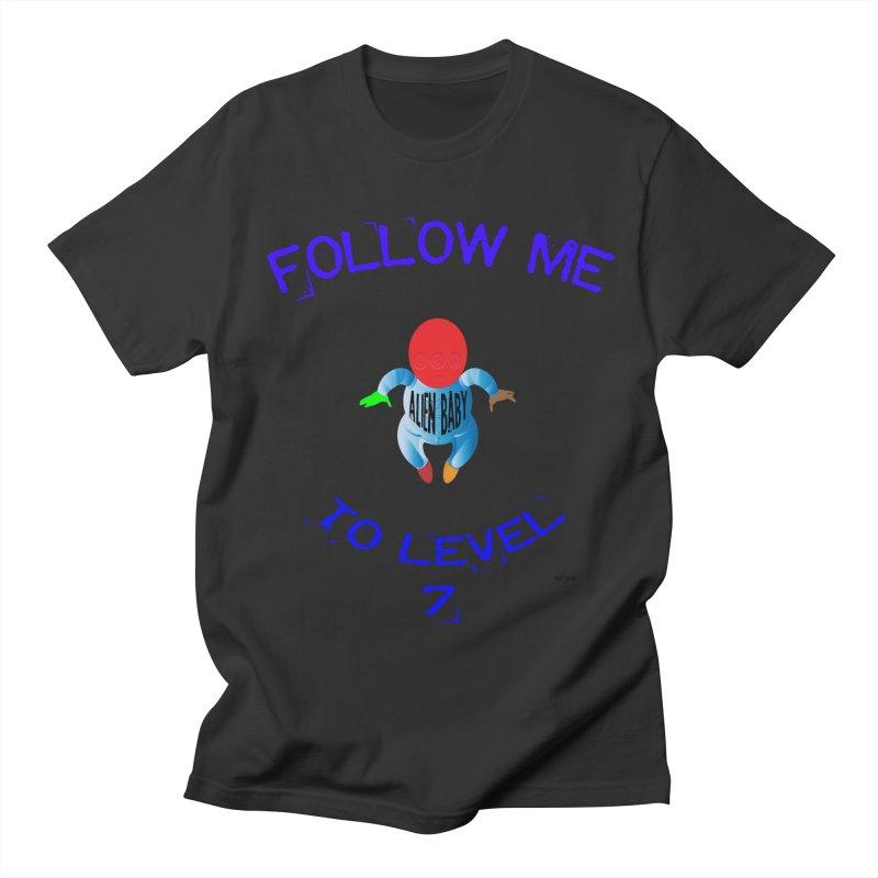 Follow me to level 7 Men's Regular T-Shirt by artworkdealers Artist Shop
