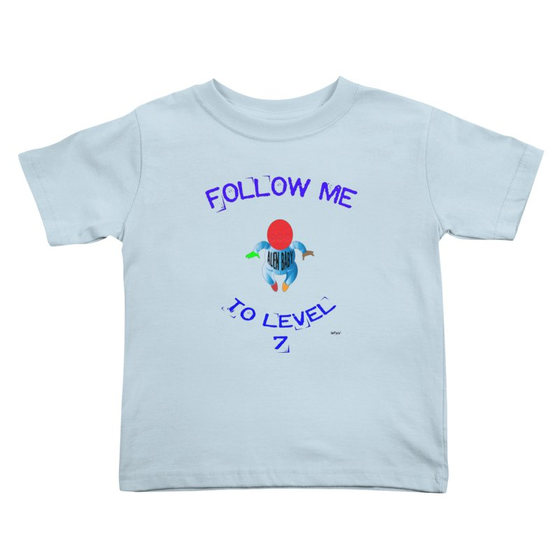 Follow me to level 7 Kids Toddler T-Shirt by artworkdealers Artist Shop