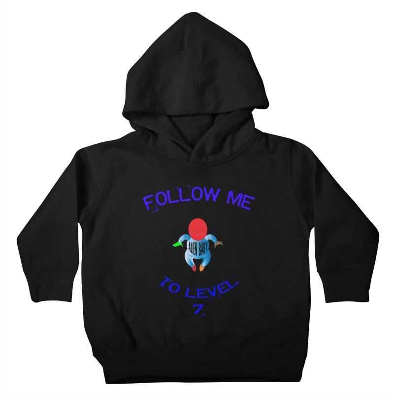 Follow me to level 7 Kids Toddler Pullover Hoody by artworkdealers Artist Shop