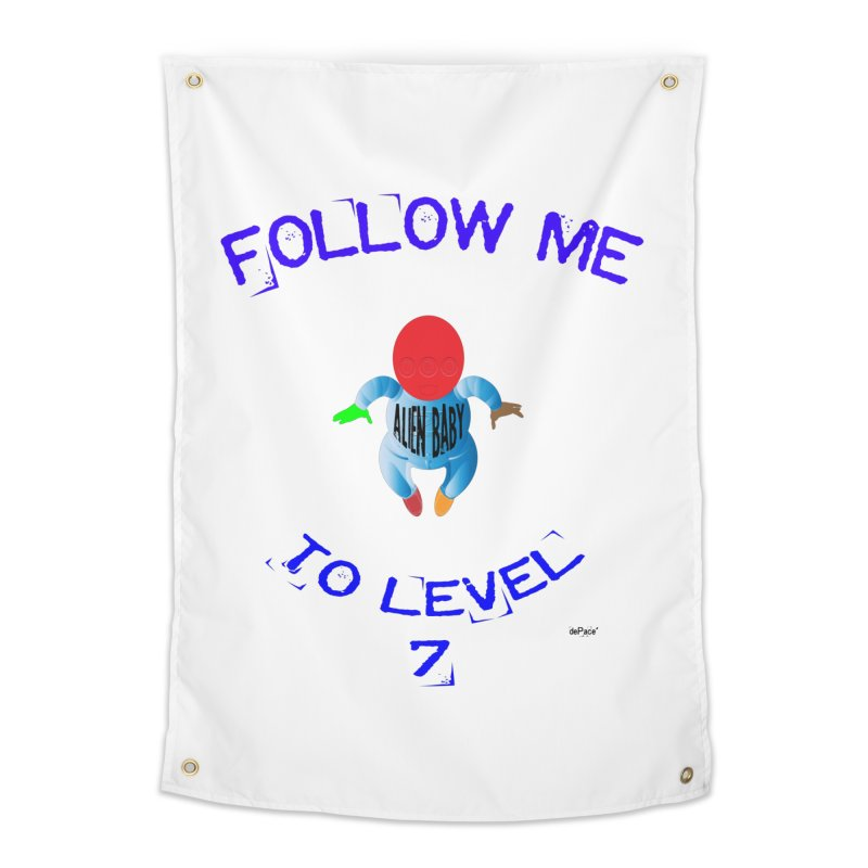 Follow me to level 7 Home Tapestry by artworkdealers Artist Shop