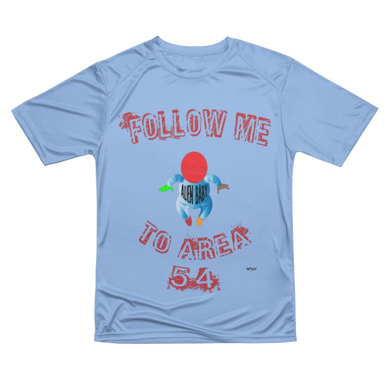 FOLLOW ME TO AREA 54 Men's Performance T-Shirt by artworkdealers Artist Shop