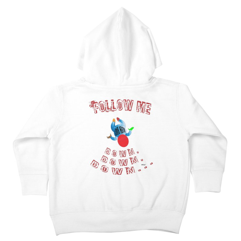 FOLLOW ME DOWN, DOWN, DOWN... Kids Toddler Zip-Up Hoody by artworkdealers Artist Shop