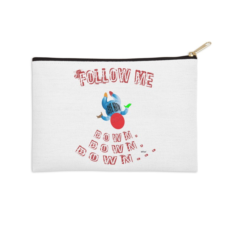 FOLLOW ME DOWN, DOWN, DOWN... Accessories Zip Pouch by artworkdealers Artist Shop