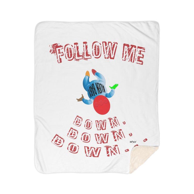 FOLLOW ME DOWN, DOWN, DOWN... Home Sherpa Blanket Blanket by artworkdealers Artist Shop