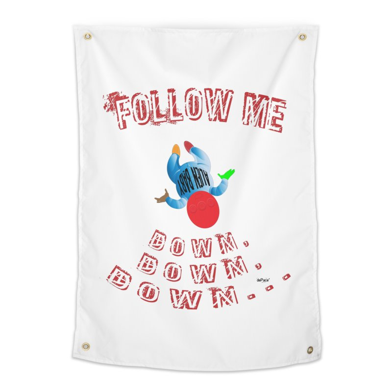FOLLOW ME DOWN, DOWN, DOWN... Home Tapestry by artworkdealers Artist Shop