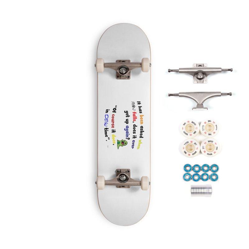 WHEN RAIN FALLS Accessories Complete - Premium Skateboard by artworkdealers Artist Shop