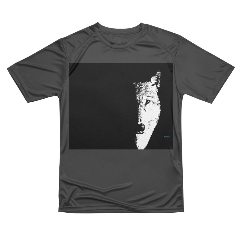 Lone Wolf Men's Performance T-Shirt by artworkdealers Artist Shop