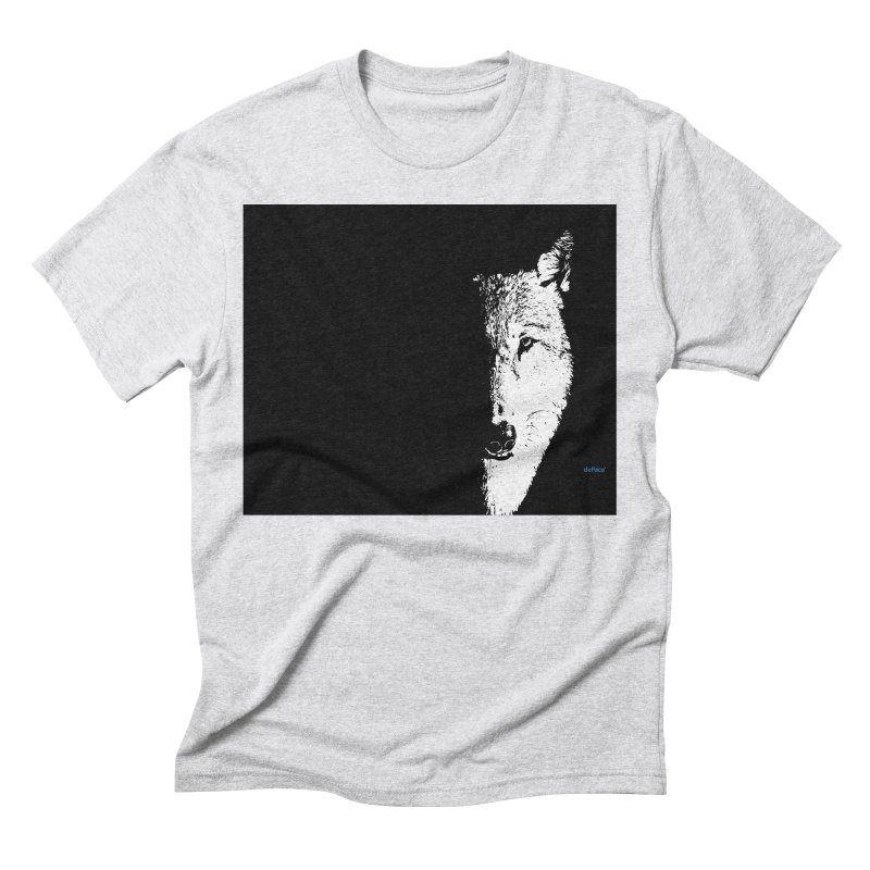 Lone Wolf Men's Triblend T-Shirt by artworkdealers Artist Shop