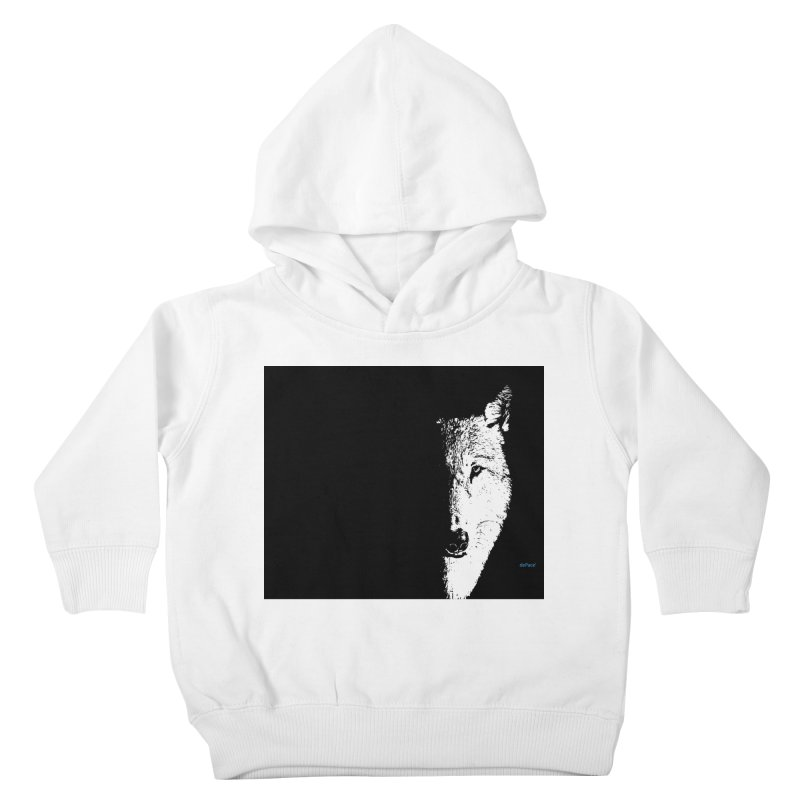 Lone Wolf Kids Toddler Pullover Hoody by artworkdealers Artist Shop