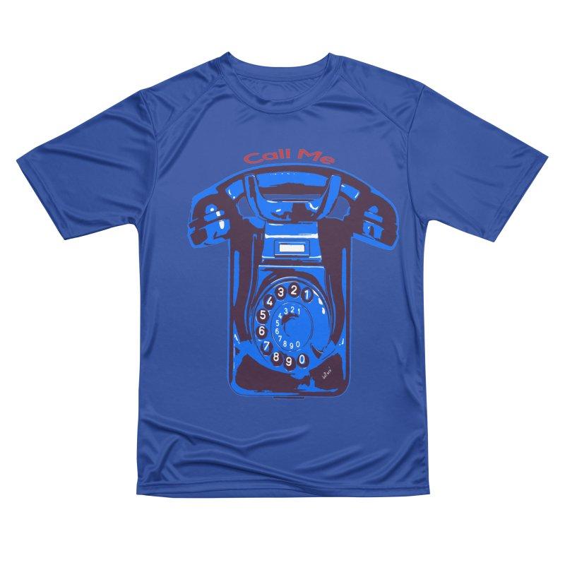 Call Me Men's Performance T-Shirt by artworkdealers Artist Shop
